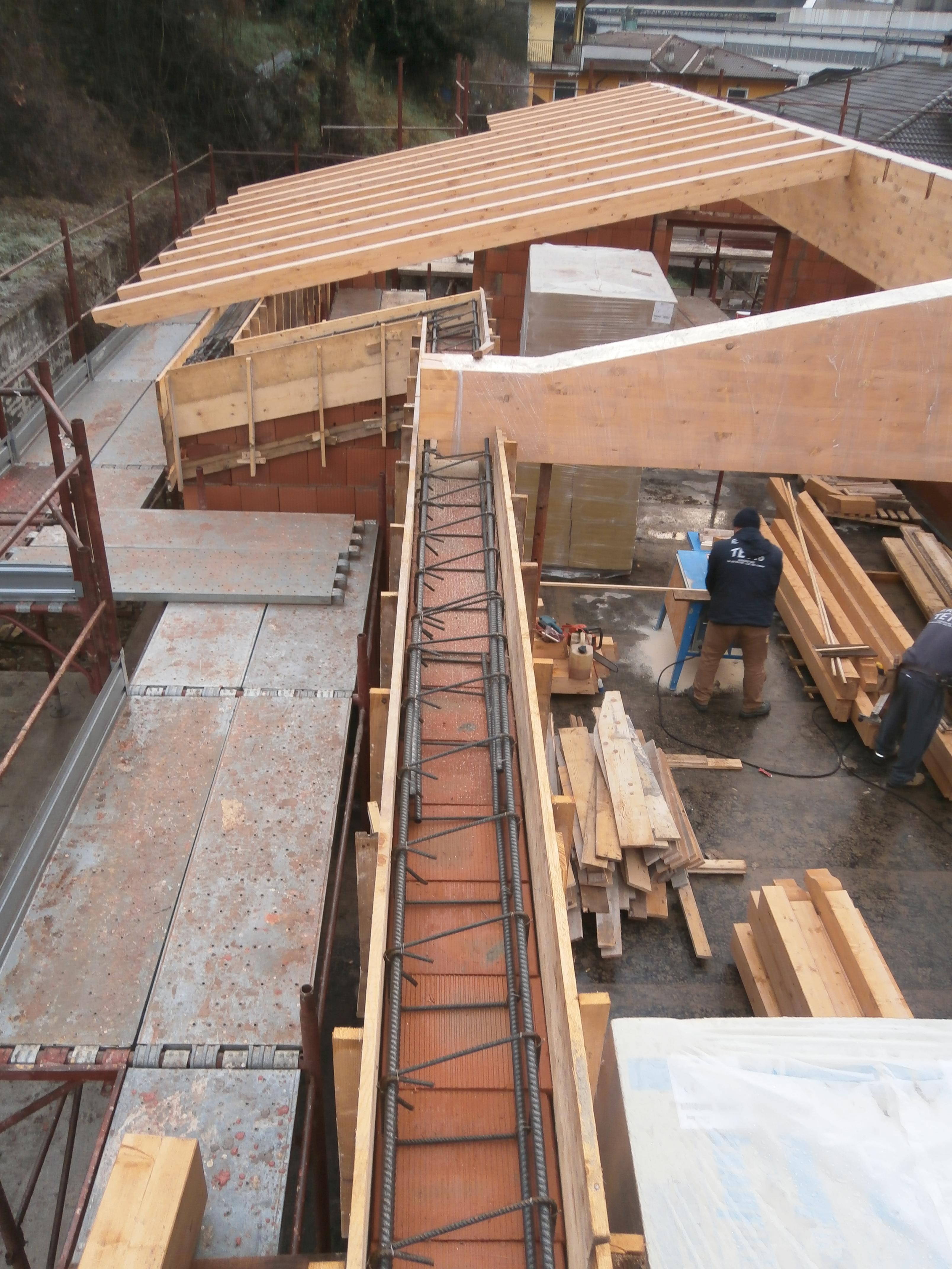 Errepi tetto gli specialisti del tetto - Costruzione piscina in cemento armato ...